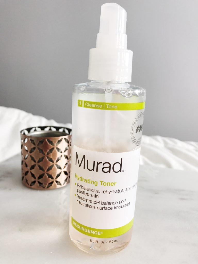 murad hydrating toner, best skin care routine for sensitive combination skin