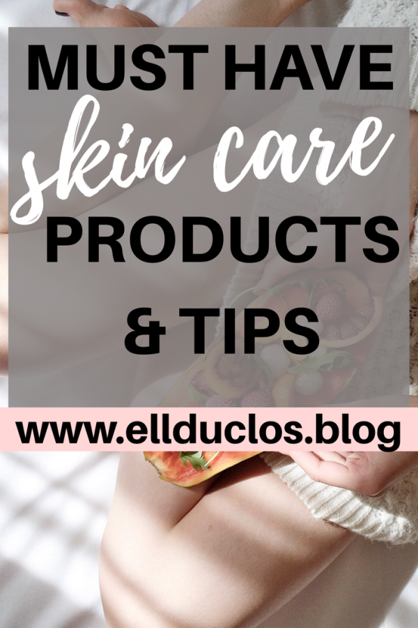 My skin care must have products and tips! My night time skin care routine.