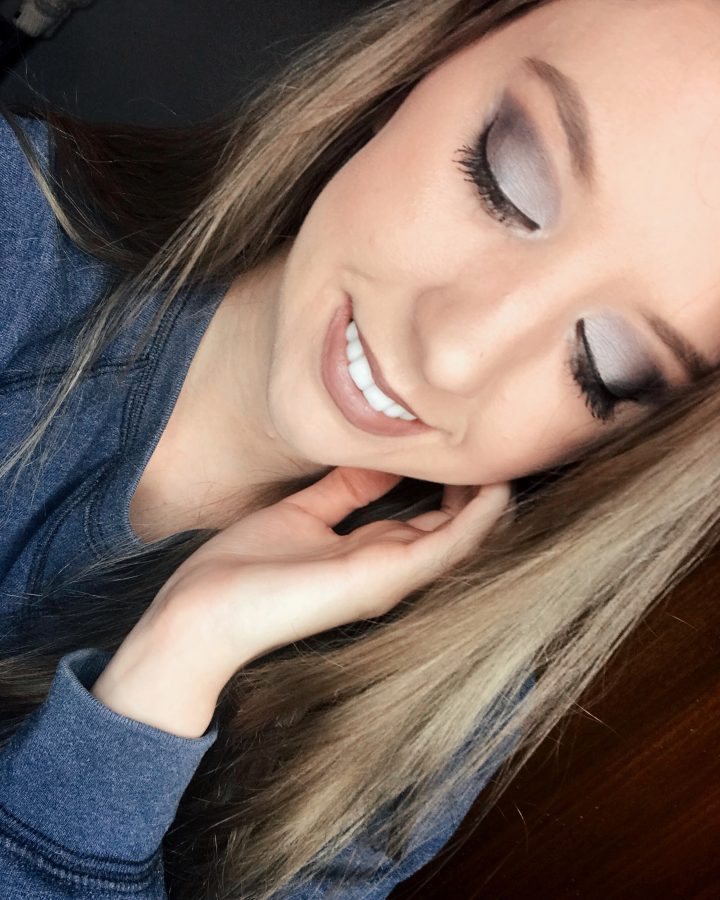 TJ Maxx beauty on a budget haul featuring Cargo Cosmetics. An icy eyeshadow look. Beauty on a budget!