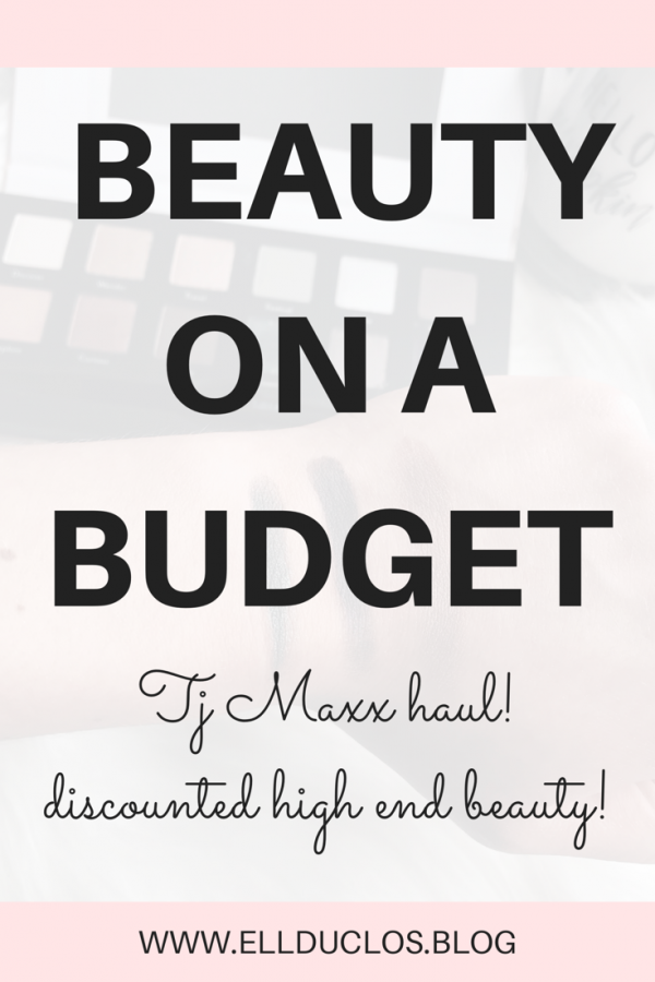 TJ Maxx beauty haul. Beauty on a budget! You won't believe what I found at TJ Maxx!