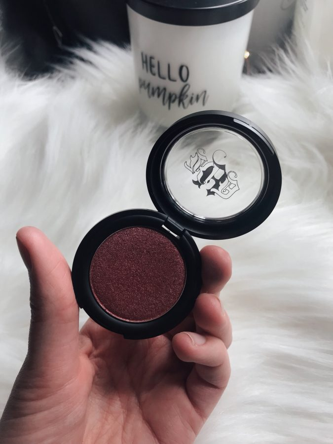TJ Maxx beauty on a budget haul, what I found at TJ Maxx, High end beauty for less! Featuring Kat Von D Metal crush eyeshadow.