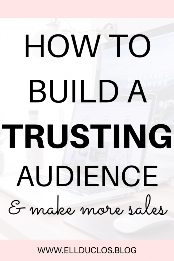 How to build a trusting audience and sky rocket your sales! Do you want to make money blogging? Here's how: