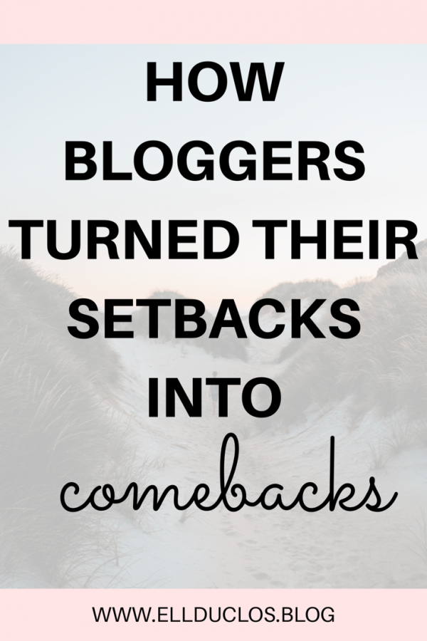 How these empowering female bloggers turned their stebacks into comebacks! Anything is possible.