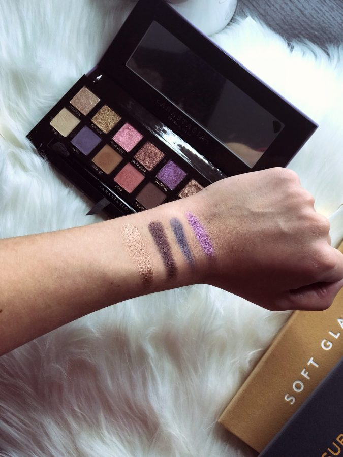 Anastasia Beverly Hills Norvina Palette swatches and review. Is the Norvina palette worth the hype? First Impressions.