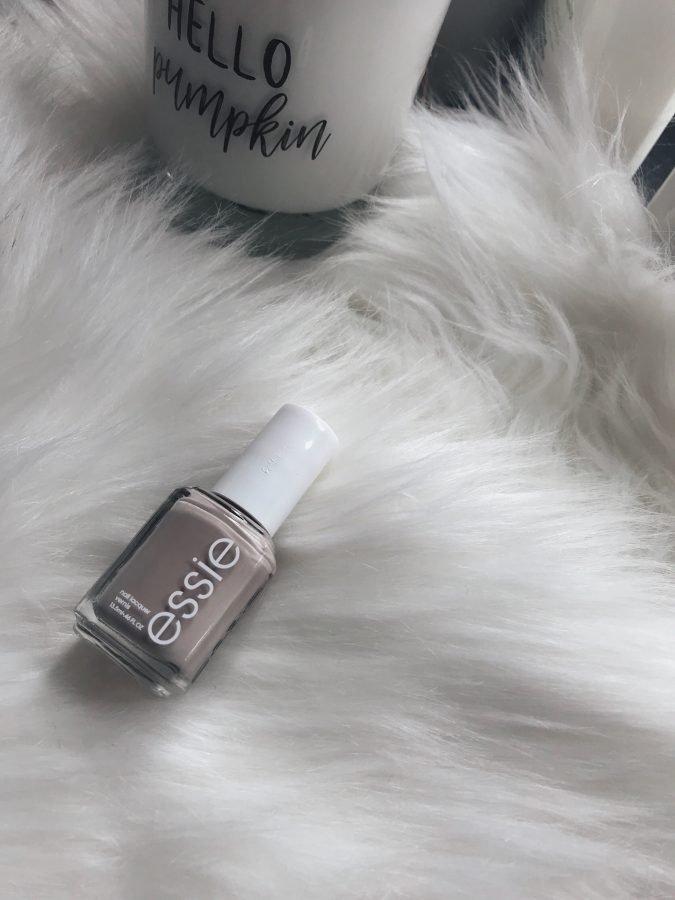 "TJ Maxx beauty on a budget haul featuring Essie Nail polish in the shade ""Sand Tropez"""