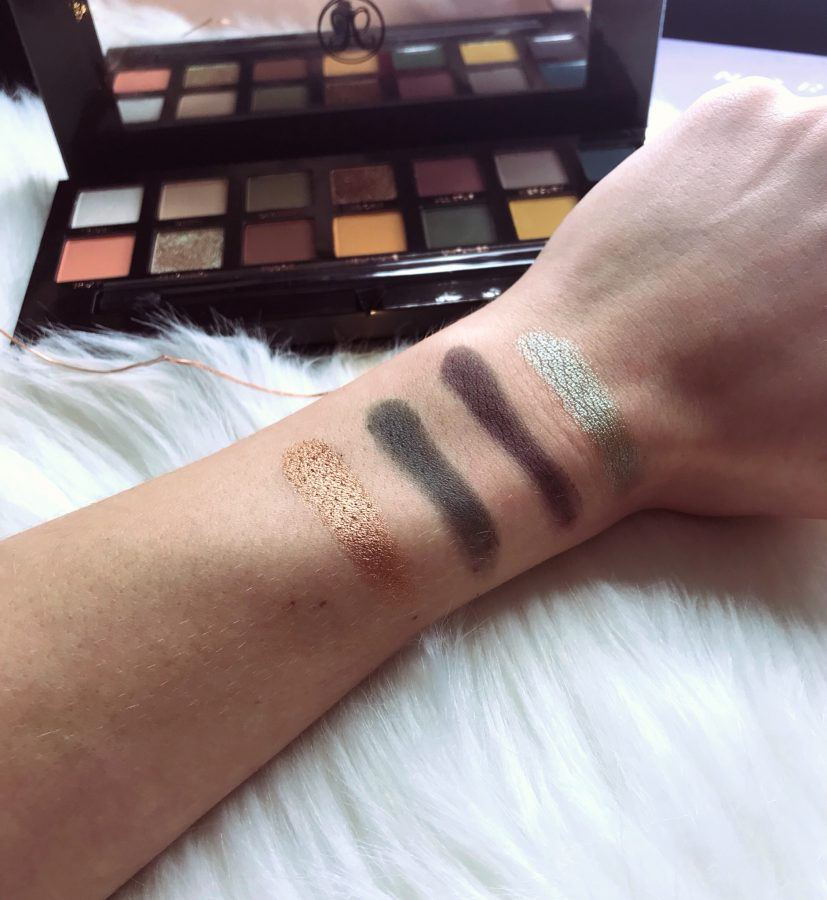 Anastasia Beverly Hills Palette Collection Swatches & Review