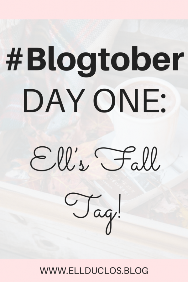 Ell's fall tag, Happy fall! It's blogtober day one. Let's celebrate the season!
