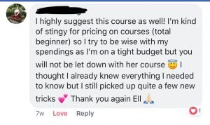 Pinterest with Ell e-course review