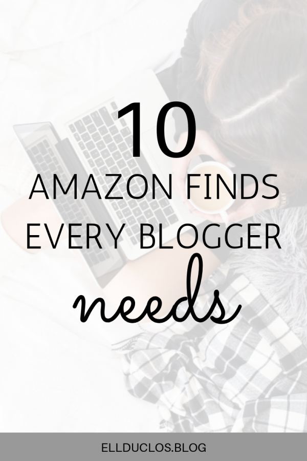 10 amazon finds for bloggers!