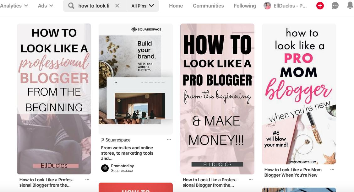 Pinterest tips to grow blog traffic.