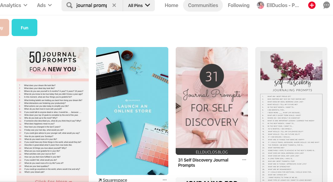 Pinterest tips to grow blog traffic