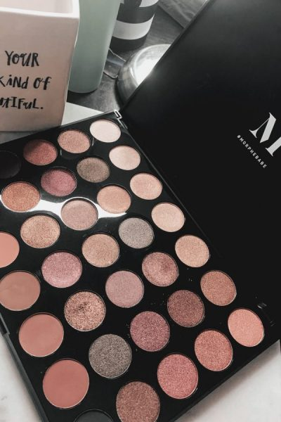 All time favorite eyeshadow palettes -Fall into frost by morphe