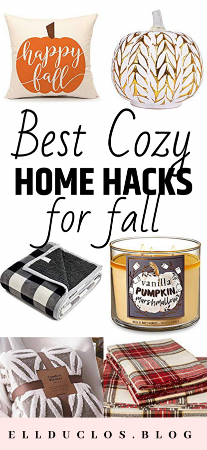 The best cozy home hacks for fall. How to decorate your home for fall!
