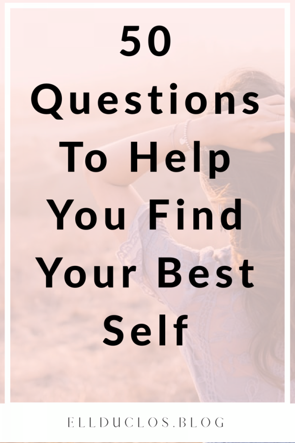 50 Questions to help you find your best self. What makes you happy, answer these 50 questions.