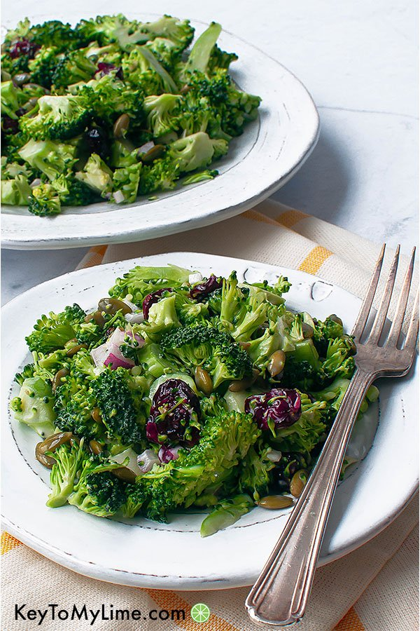 Delicious Holiday Recipes, The best broccoli cranberry salad recipe to wow your family and friends this holiday season.