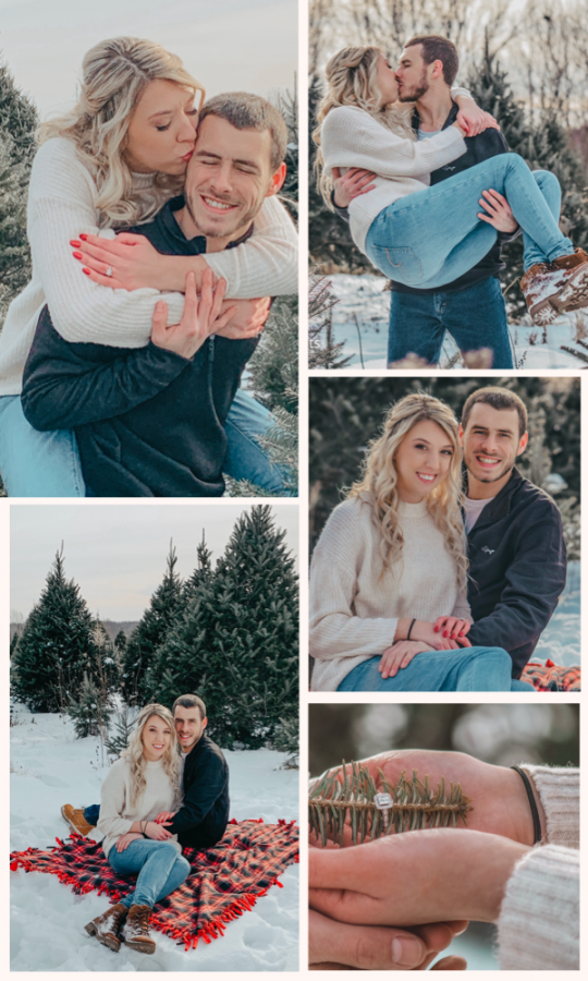 The best winter engagement photo ideas for couples