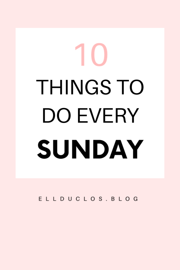 10 self care tips for a sunday well spent