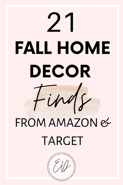 21 Fall Decor Finds From Target & Amazon