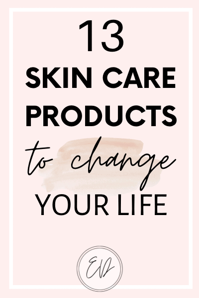 13 skin care products from Sephora that will change your life. The best skin care products for problematic skin.